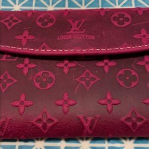 🔹2/24$🔹Pink wallet look like «Louis Vuitton»